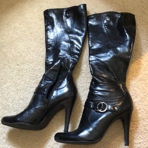Marc Fisher High Leather Boots